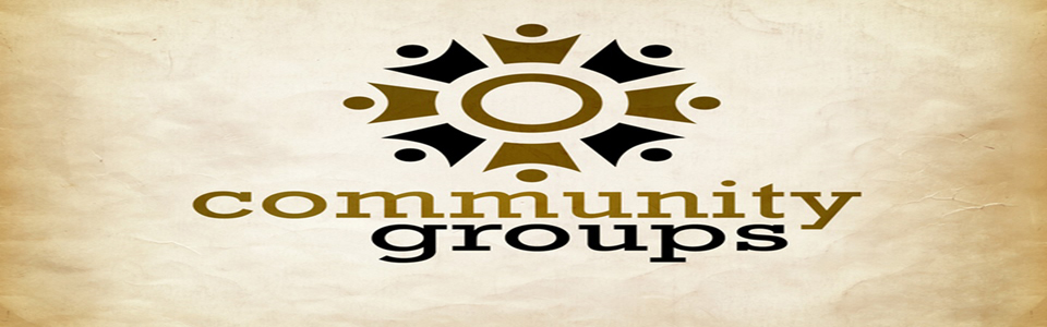 Community Groups Banner